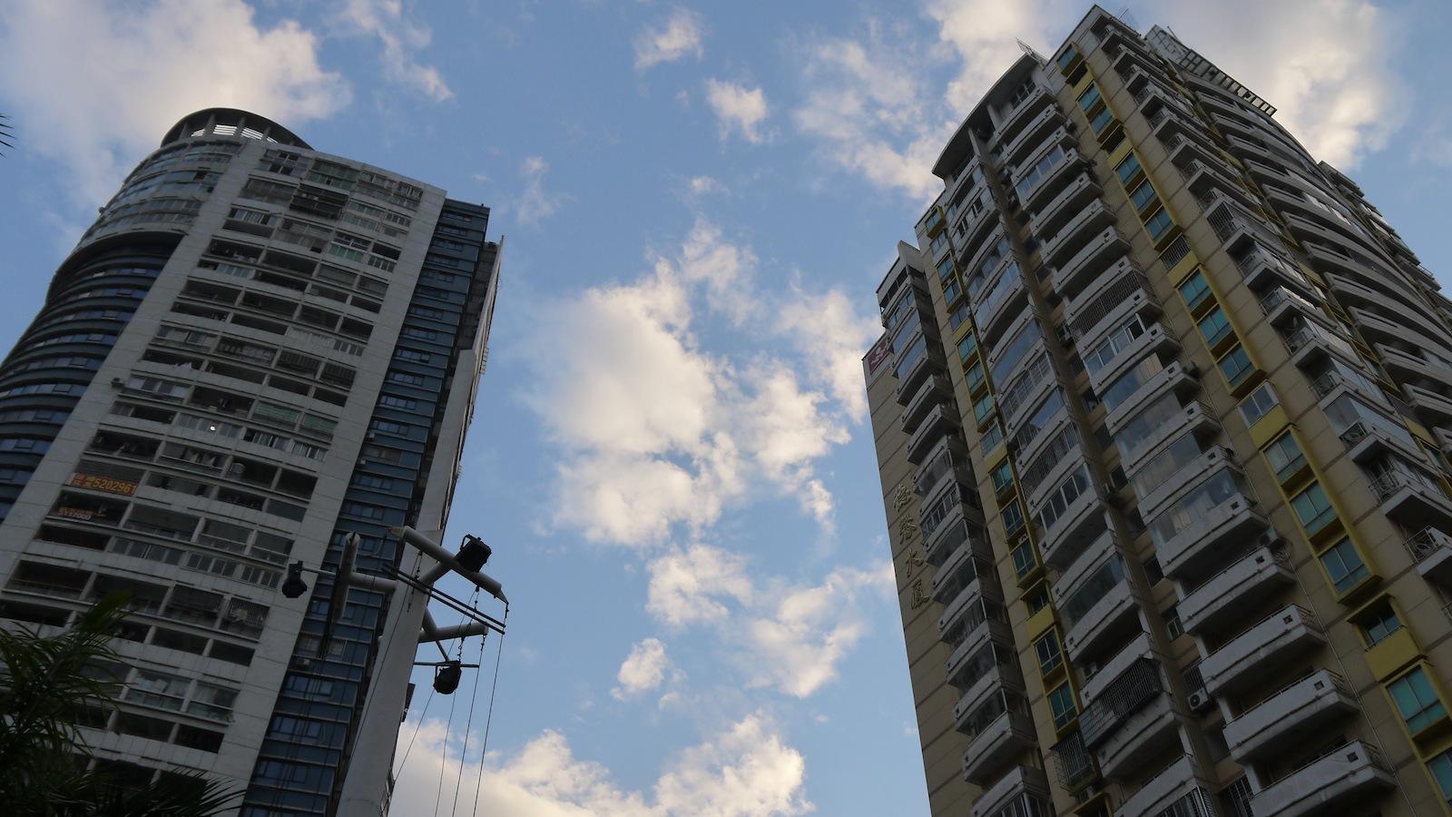 蓝天·高楼